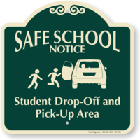 Student Pick Up and Drop Off.